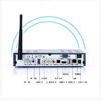 al por mayor cajas de cable digital-Receptor basado en los satélites de Digitaces A8 MÁS androide TV BOX DVB S2DVB T2DVB C 1080P hd completo con el reloj Singapro Starhub cable tv