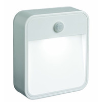 abs motion lights - Motion Sensor Activated Battery Operated LED Night Light White LED ABS material Stick Anywhere