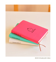 Soft Copybook accounting sales - New Arrival Creative Korean Style Notebook Office Wooden MoLang Rabbit Diary CM Wireless Binding Hot Sale