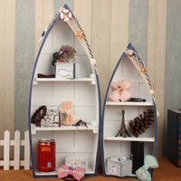 aluminum storage cabinets - Mediterranean boat storage lockers Household Curio Cabinet C Creative Crafts Show lockers