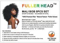 Wholesale FULLER HEAD MALI BOB SET Short quot Curly Twist Crochet Braids Braiding Hair Premium Synthetic Fiber for Black Women