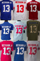 beckham free - New York Odell Beckham Jr Blue White Red Green Salute To Service Men s Women s Kid s ELITE GAME LIMITED All stitched Jerseys