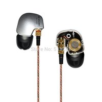 Wholesale KZ ATE Sports Headphones Noise Cancelling In Ear Headset Bass HIFI Music Earphones For Iphone Mobile Phone MP3 MP3 Computer