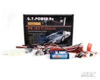battery powered led light kits - GT POWER LED RC Car Flashing Head Light Lighting kit BRAKE HEADLIGHT RC12LED