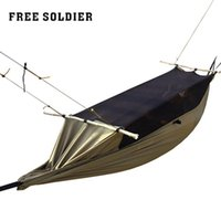 Wholesale Ultralight Brand Hanging Tent Camping Hiking Outdoor Survivor Portable Mosquitoe Hammock with Bed Net Sleeping Camping Wear resisting Tent