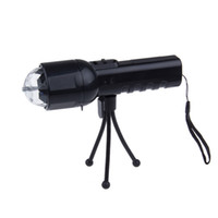 Wholesale Dj Laser Machines Disco Light Stage Light Colorful Crystal LED RGB Flashlight Dual Use In W High Quality