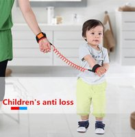 Wholesale Baby leashes Child Anti Lost wristband With Elastic Wire Rope Baby Lost Not To Scratch The Hand Safety Security For Baby