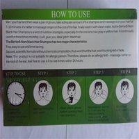 Wholesale black hair shampoo