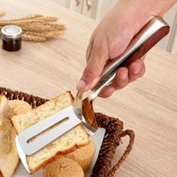 Wholesale Big Stainless Steel Food Clip for Beefsteak Western Food Barbecue Pastry Clamp Steak Pizza Slotted Turner Bread Shovel Clip