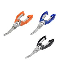 fishing hooks stainless steel - Outdoor Fisherman Stainless Steel Fishing Pliers Scissors Line Cutter Remove Hook Fishing Tackle Tool Color