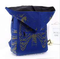 backpack with cooler - Fashion Vogue Casual Canvas Unisex Backpacks with Hood Cool Men Rucksack Pattern Preppy Style Travel Girls Hat School Bag B34