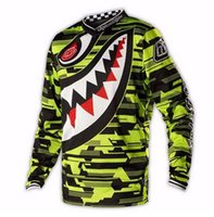 airline t shirts - 4 Styles Men Motocross DH Downhill MX MTB T Shirts Jerseys Dirt Bike Cycling Racing Long Sleeve Airline Off Road Jerseys