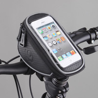 Wholesale Hot New Roswheel Cycling Bike Bicycle Front Frame Handlebar Bag Pouch for in Cellphone Panniers Bags
