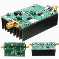 amplifier vhf - 500MHZ HF FM VHF UHF RF Power Amplifier With Heatsink For Ham Radio DBP_12S