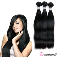 Wholesale Brazilian Virgin Hair Straight Bundles a Unprocessed Remy Human Hair Extensions Cheap Human Hair Weave Very Thick End No Tangle