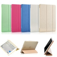 Wholesale for iPad Mini Leather Stand Support Flip Transparent Funda Capa Cover Case for iPad Mini Foldable Clear Coque