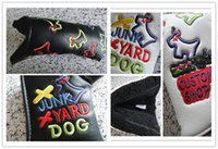 Wholesale Sale fashion new YARD DOG golf putter headcover great PU leather quality golf head covers colors clubs headcovers