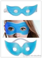 Wholesale Therapeutics Soothing Beauty Eye Mask Reusable Ice Cold Gel Eye Mask Relaxes Tired Eyes Diary Cool Protective Eyes Pouch