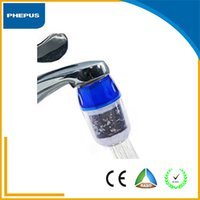 Wholesale Hot selling tap water filter high quality alkaline tap water purifier filter household pre filtration faucet filter with activated carbon