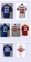 beckham boy - Youth Kids Jerseys Eli Manning Odell Beckham Jr Victor Cruz boys Chrildren Stitching Embroidery jersey