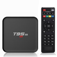 Cheap Box T95M 4K Smart Tv Kodi 16.0 android tv box Amlogic S905 2.4GHz WIFI XBMC Android 5.1 Quad Core Mali-450 LED display
