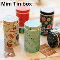 Wholesale 32 Storage pencil holder Tin Box for clips eraser Desk organizer Decorative item Office accessories School supply