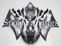 Wholesale Fairings For Yamaha YZF600 YZF R6 YZF R6 ABS Motorcycle Fairing Kit Cowlings Black Red Decals