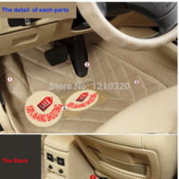 Wholesale Quality PU leather car floor mats car anti slip car mat slip mat car for BMW series i i i
