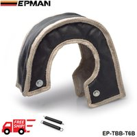 Wholesale EPMAN Turbo Heat Shields H Q T6 turbo charger turbocharger blanket beanie hand made quality guaranteed Color Black EP TBB T6B