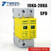 Wholesale SPD P N KA KA D VAC House Surge Protector protection Protective Low voltage Arrester Device