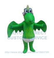 adult alien costume - green dragon mascot costume alien dinosaur dino custom adult size cartoon character cosply carnival costume