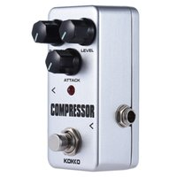 Wholesale KOKKO FCP2 Mini Compressor Pedal Portable Guitar Effect Pedal High Quality Guitar Parts Guitarra Effect Pedal