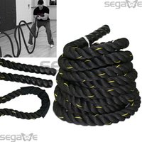 Wholesale 30 ft Battle Rope quot Poly Dacron Workout Strength Exercise Training