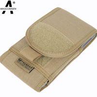 ag case - bags foundation MAGCOMSEN Fashion Waist Bag Men Brand Design Bag Fanny Pack For Mobile Phone Case Waist Pack men Belt Pouch AG XXZB