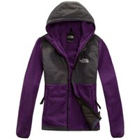 Wholesale Brand North Winter Womens Denali Fleece Jackets Outdoor Casual Sports SoftShell Warm Ski Down Coats Ladies Brand Tops Mens Kids Face Coats