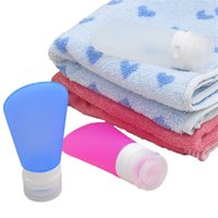 bath press - 2 Ounce Travel Bottles Silicone Travel Packing Press Bottle For Lotion Shampoo Bath Container With Pvc Bags