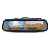 backup dvd video - Dual inch TFT LCD Mirror Monitor for Dvd Video Player Reversing Backup Car Camera