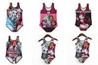 Cheap One-piece monster high Swimsuit Best Girl Children's Day monster high swimwear