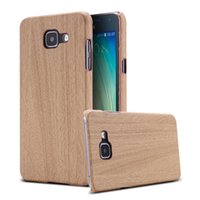 bamboo mobile - A5 New Bling Glitter Retro Bamboo Wooden Slim Hard Case For Samsung Galaxy A5 A A510 A5100 Mobile Phone Back Cover