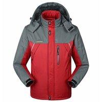 Wholesale Winter men jacket Down Parkas male thermal Velvet coat for men tourism jackets outerwear jaqueta Waterproof Windproof Chaqueta