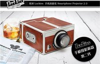 Wholesale New Smartphone Projector DIY Mobile Phone Projector Portable Cinema for iPhone Samsung Android Phones