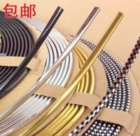 air conditioned parts - Replacement Parts Reflective Strips Car outlet blade decoration strip fishing air conditioning light bar