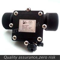 Wholesale G1 quot Water Flow Hall Sensor Switch Meter DN32 Flowmeter Counter L min