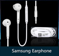 Wholesale Headphone In ear earphone for samsung s6 unisex Cell phone headphone with mic and remote volume control