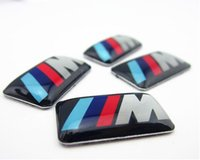 Wholesale 50x D M LOGO RESIN BADGE EMBLEM DISPENSING STICKER DECAL RIM WHEEL M3 Any Car Any Where