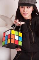 Wholesale Shopping Bags For Woman Cute Handbag Handbags Women Bags Magic Cube Shape Korean Fashion Pop Style Handbag Purses Handbags