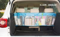 auto storage racks - Car Rear Racks Boot Tidy Bag Organizer Organize Bag Auto Storage Box Multi use Tools organiser
