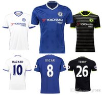 Wholesale The new Chelsea Chelsea Shirt Willian HAZARD Pedro OSCAR DIEGO COSTA Free Shippinng TOPThai Quality