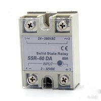 Wholesale SSR A Single phase AC solid state relay solid state voltage regulator DC control AC Zero voltage turn on