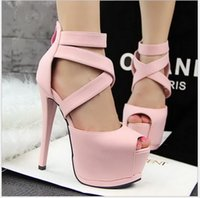 adhesive wound dressing - European and American wind Roman shoes crossed with ultra high sexy nightclub hollow out fish mouth sandals with waterproof